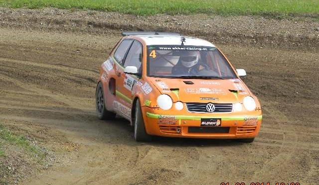 Tristan ist Vizemeister in der österreichischen Rallycrossmeisterschaft
