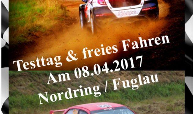 Testtag & Freies Fahren Nordring/Fuglau 08.04.17